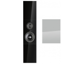 Audio Physic Classic On-Wall Glass White Aluminium High Gloss, Sides White Aluminium