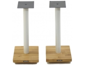 Apollo Cyclone 5 Speaker Stands White/Oak