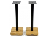 Apollo Cyclone 6 Speaker Stands Silk Black/Oak