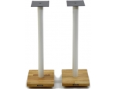 Apollo Cyclone 6 Speaker Stands White/Oak