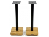 Apollo Cyclone 7 Speaker Stands Silk Black/Oak