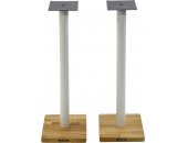 Apollo Cyclone 7 Speaker Stands White/Oak