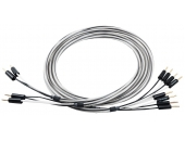 Abbey Road Monitor Speaker Cable Banana Bi-Wire 2.5m