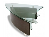 BDI Fin Coffee Table 1106 Espresso