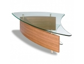 BDI Fin Coffee Table 1106 Natural Walnut