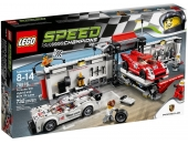 LEGO Speed Champions 75876: Porsche 919 Hybrid and 917K Pit Lane