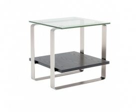 BDI Stream End Table 1510G Espresso